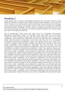 Yellow Labyrinth Word Template, Second Inner Page, 07934, Consulting — PoweredTemplate.com