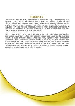 Sunbathe Word Template Second Inner Page