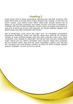 Sunbathe Word Template, Second Inner Page, 07945, Careers/Industry — PoweredTemplate.com