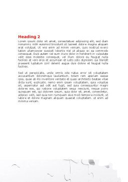 Fitting Puzzle Word Template, Second Inner Page, 07946, Consulting — PoweredTemplate.com