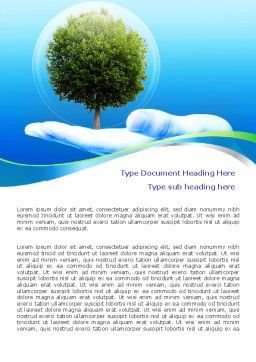 Tree Protection Word Template, Cover Page, 07951, Nature & Environment — PoweredTemplate.com