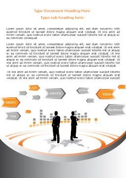 Business Building Word Template, Cover Page, 07965, Consulting — PoweredTemplate.com