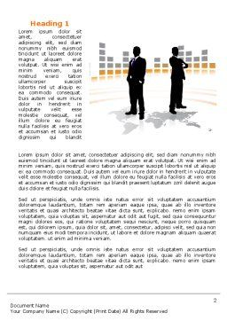 Business Building Word Template, First Inner Page, 07965, Consulting — PoweredTemplate.com