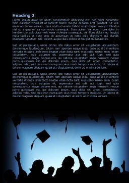 Alumnuss Word Template, Second Inner Page, 07994, Education & Training — PoweredTemplate.com
