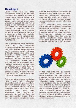 Moving Force Word Template, First Inner Page, 07995, Utilities/Industrial — PoweredTemplate.com