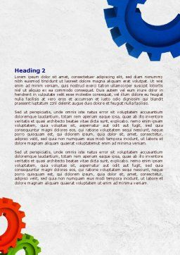 Moving Force Word Template, Second Inner Page, 07995, Utilities/Industrial — PoweredTemplate.com