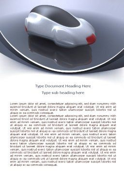 Concept Car Word Template, Cover Page, 07998, Careers/Industry — PoweredTemplate.com