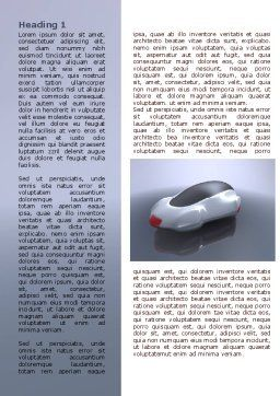 Concept Car Word Template First Inner Page