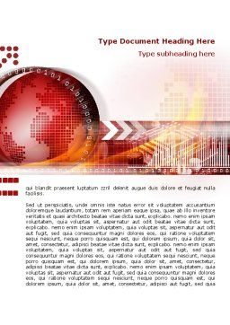 World Theme Brochure Template Cover Page