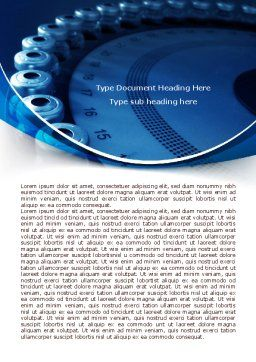 Laboratory Centrifuge Word Template Cover Page