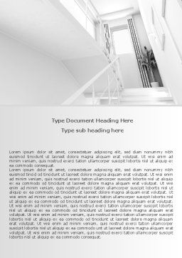 3D Interior Modeling Word Template Cover Page