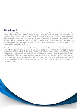 Brain MRI Scan Word Template, Second Inner Page, 08061, Medical — PoweredTemplate.com