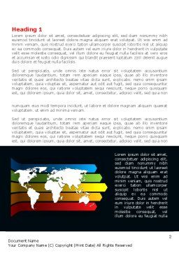 World Consolidation Word Template First Inner Page