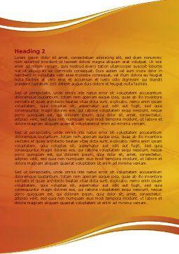 Foucault Pendulum Word Template, Second Inner Page, 08118, Consulting — PoweredTemplate.com