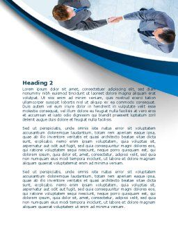 Business Handshake Word Template, Second Inner Page, 08133, Business — PoweredTemplate.com