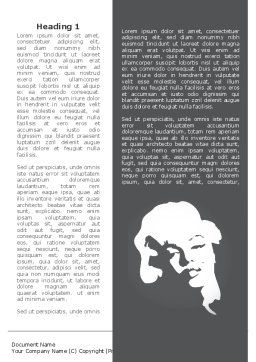 Marilyn Monroe Word Template, First Inner Page, 08142, People — PoweredTemplate.com