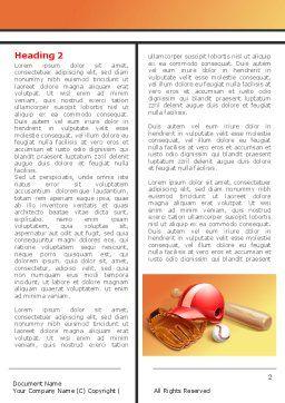 Baseball Bat Word Template, First Inner Page, 08149, Sports — PoweredTemplate.com