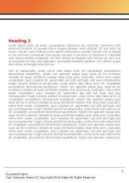 Baseball Bat Word Template, Second Inner Page, 08149, Sports — PoweredTemplate.com