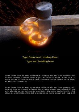 Forging Word Template Cover Page