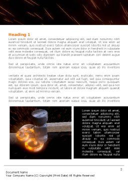 Forging Word Template First Inner Page
