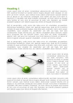 Network Link Word Template, First Inner Page, 08161, Technology, Science & Computers — PoweredTemplate.com