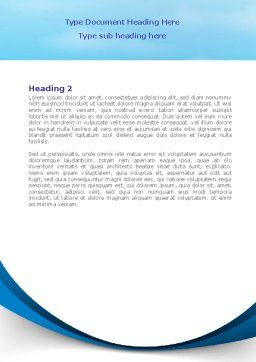 Stationery Ship Word Template, Second Inner Page, 08172, Business — PoweredTemplate.com