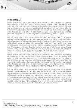 City Architecture Word Template, Second Inner Page, 08176, Construction — PoweredTemplate.com