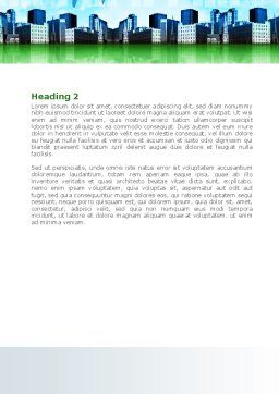 Trans International Services Word Template, Second Inner Page, 08187, Consulting — PoweredTemplate.com