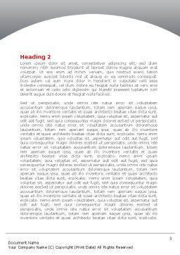 Jigsaw Lifting Word Template, Second Inner Page, 08200, Consulting — PoweredTemplate.com
