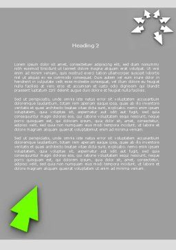In and Out Word Template, Second Inner Page, 08221, Consulting — PoweredTemplate.com