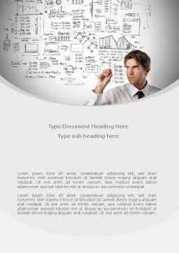 Business Success Planning Word Template, Cover Page, 08235, Consulting — PoweredTemplate.com