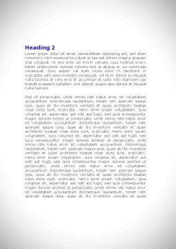 Jigsaw Path Finishing Word Template, Second Inner Page, 08238, Consulting — PoweredTemplate.com