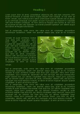Ear Cells Word Template, First Inner Page, 08246, Medical — PoweredTemplate.com