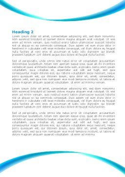 Belly Heart Word Template, Second Inner Page, 08270, Medical — PoweredTemplate.com