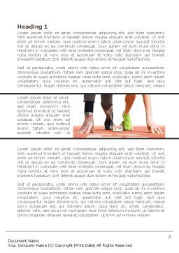 Business Sport Word Template, First Inner Page, 08278, Careers/Industry — PoweredTemplate.com