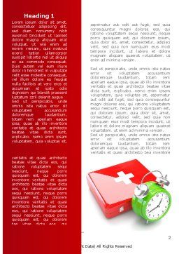 Medical Emergency Word Template, First Inner Page, 08280, Medical — PoweredTemplate.com