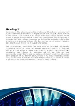 2011 Digits Word Template, Second Inner Page, 08288, Holiday/Special Occasion — PoweredTemplate.com