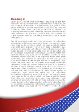Elections Theme Word Template Second Inner Page