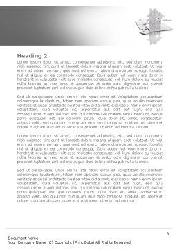 Gray Puzzle House Word Template, Second Inner Page, 08291, Construction — PoweredTemplate.com