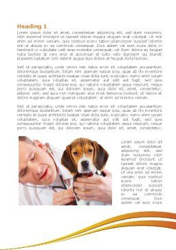 Veterinarian Word Template First Inner Page