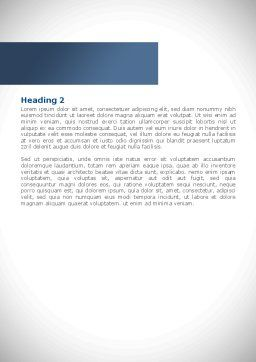 Snow Cleaning Word Template, Second Inner Page, 08293, Utilities/Industrial — PoweredTemplate.com