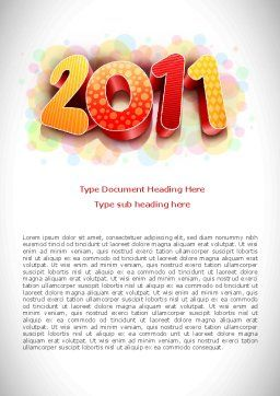 2011 Word Template, Cover Page, 08294, Holiday/Special Occasion — PoweredTemplate.com