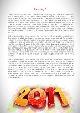 2011 Word Template, Second Inner Page, 08294, Holiday/Special Occasion — PoweredTemplate.com