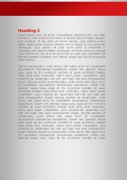 Head Full Word Template Second Inner Page