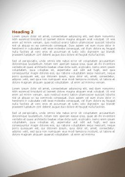 Upcoming Year Word Template, Second Inner Page, 08304, Business — PoweredTemplate.com