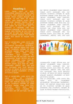 Social Interactions Word Template First Inner Page