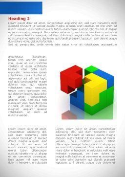 Fitting Pieces Word Template, First Inner Page, 08326, Business Concepts — PoweredTemplate.com
