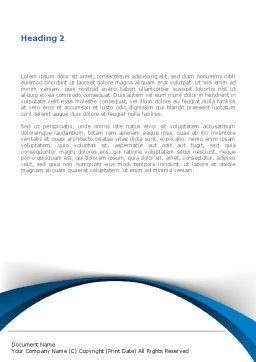 From 2010 to 2011 Word Template Second Inner Page