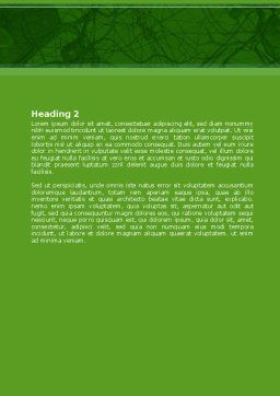 Nervous Tissue Word Template, Second Inner Page, 08340, Medical — PoweredTemplate.com