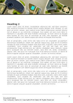Building Satellite View Word Template, Second Inner Page, 08346, Construction — PoweredTemplate.com